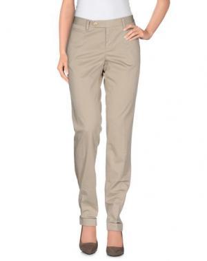 Повседневные брюки PT0W. Цвет: бежевый