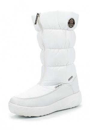 Дутики King Boots. Цвет: белый