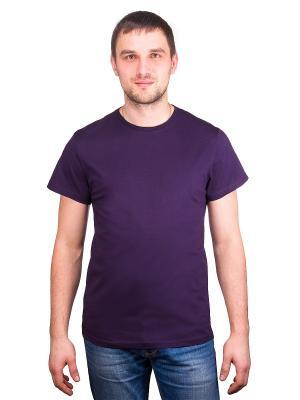 Футболка GREG. Цвет: фиолетовый