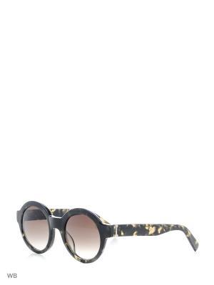 Солнцезащитные очки ICB 302 03 Iceberg. Цвет: темно-коричневый, хаки