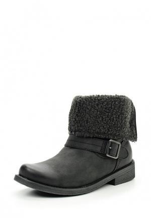 Ботинки Roxy. Цвет: серый