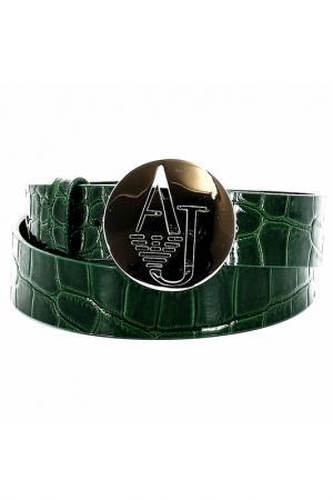 Ремень Armani Jeans. Цвет: зеленый