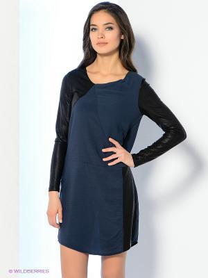 Платье Dept. Цвет: темно-синий, черный