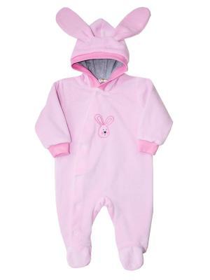 Комбинезон для малыша КОТМАРКОТ. Цвет: розовый
