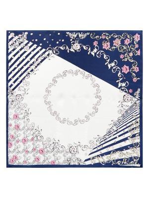 Платок Eleganzza. Цвет: темно-синий, молочный, розовый