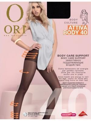 Колготки ORI Attiva Body 40 den. Цвет: черный