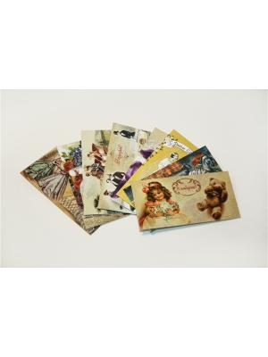 Набор подарочных конвертов для денег Даринчи. Цвет: белый