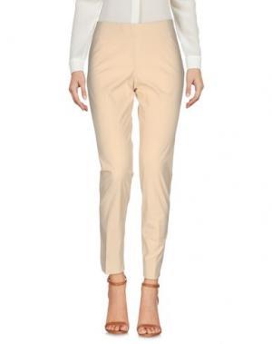 Повседневные брюки MALÌPARMI. Цвет: бежевый