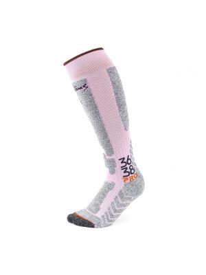 Носки Pim's. Цвет: розовый