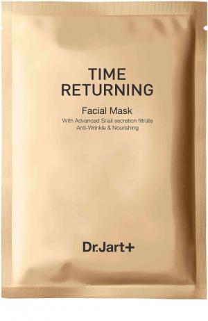 Антивозрастная маска с муцином улитки Time Returning Dr.Jart+. Цвет: бесцветный
