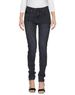Джинсовые брюки GARCIA JEANS. Цвет: стальной серый