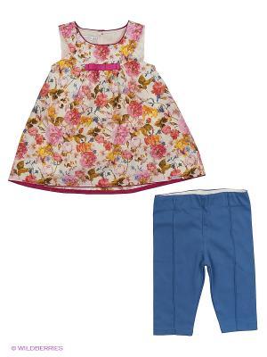 Комплект Monna Rosa. Цвет: розовый, белый, синий