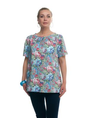 Блуза OLSI. Цвет: зеленый