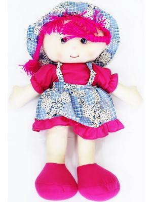 Кукла Плюшевая Аленка 75см Склад Уникальных Товаров. Цвет: фуксия