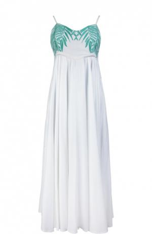 Пляжное платье Mara Hoffman. Цвет: белый