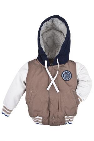 Куртка Gulliver Baby. Цвет: бежевый
