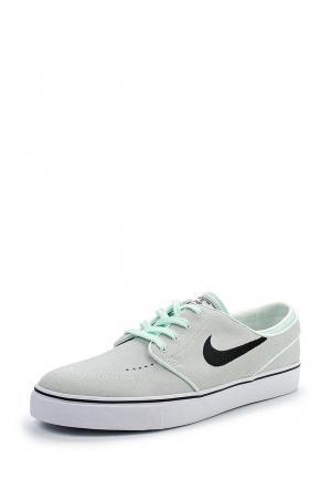 Кеды Nike. Цвет: зеленый