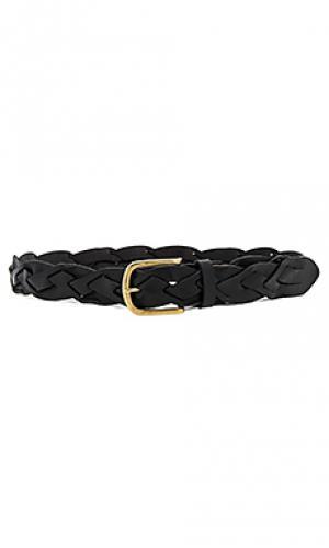 Braided hip belt Linea Pelle. Цвет: черный