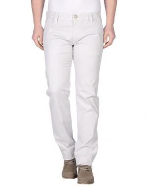 Повседневные брюки CHIRIBIRI. Цвет: светло-серый