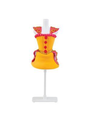Набор для творчества с пластилином Fashion Dough и манекеном Желтый Toy Target. Цвет: желтый