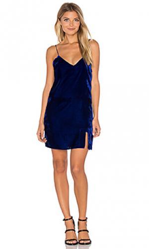 Платье-комбинация natalie Line & Dot. Цвет: синий