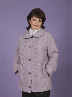 Куртка Селия VIKO. Цвет: лиловый
