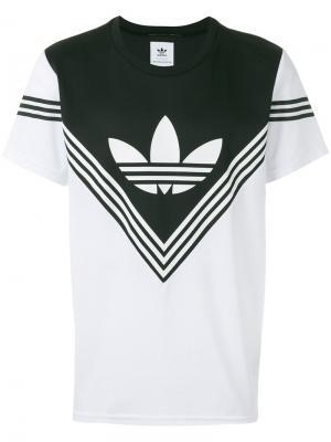 Футболка Football Adidas By White Mountaineering. Цвет: белый