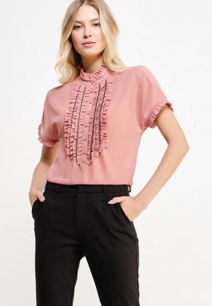 Блуза Sisley. Цвет: коралловый