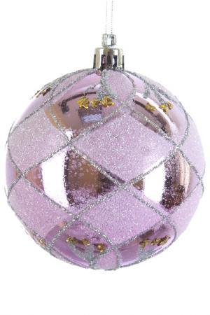 Шары новогодние, 2шт, 8 см Monte Christmas. Цвет: розовый
