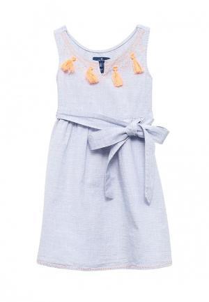 Платье Tom Tailor. Цвет: голубой