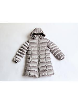 Пальто Iota. Цвет: серый