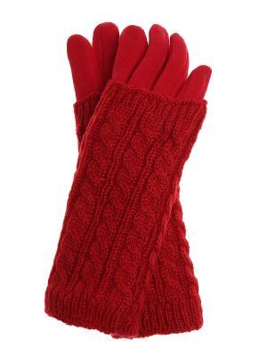Перчатки Olere. Цвет: красный