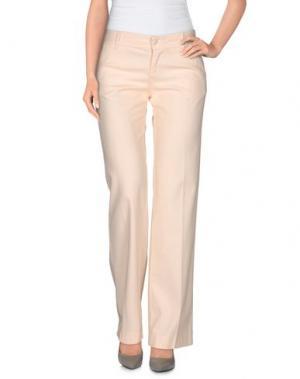 Повседневные брюки NELL&ME. Цвет: светло-розовый