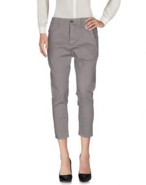 Повседневные брюки NOVEMB3R. Цвет: серый
