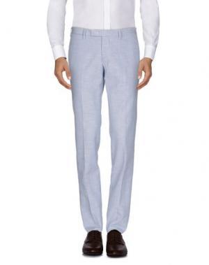 Повседневные брюки GERMANO. Цвет: лазурный