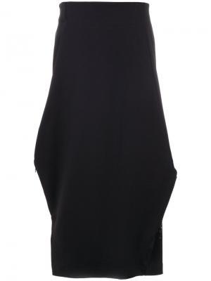 Спортивная юбка  Matte Y-3. Цвет: чёрный