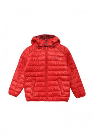 Куртка утепленная Pepe Jeans. Цвет: красный
