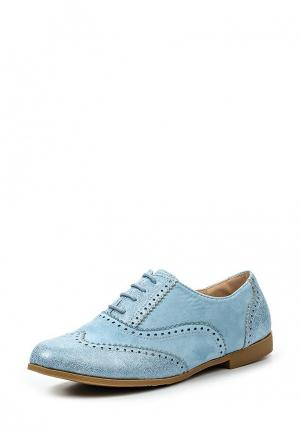 Ботинки Girlhood. Цвет: голубой