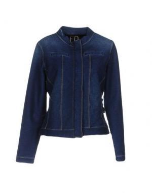 Джинсовая верхняя одежда ED 2.0. Цвет: синий