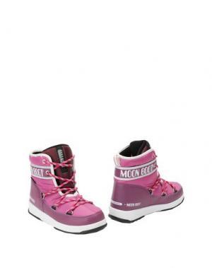 Полусапоги и высокие ботинки MOON BOOT. Цвет: светло-фиолетовый