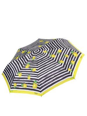 Зонт Fabretti. Цвет: желтый