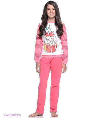 Комплект S`Cool. Цвет: розовый, белый