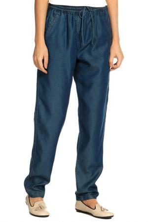Брюки Marks & Spencer. Цвет: джинсовый