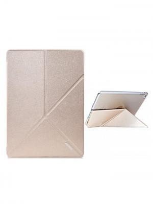Чехол откидной Apple iPad 6 / Air 2 Remax Transformer Gold. Цвет: золотистый