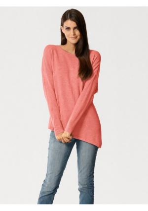 Пуловер PATRIZIA DINI. Цвет: абрикосовый, молочно-белый, серый меланжевый, синий, темно-синий