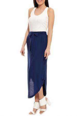 Комплект с юбкой Relax Mode. Цвет: синий