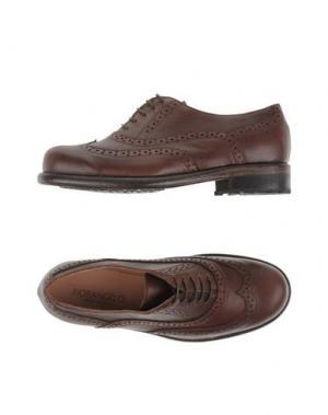 Обувь на шнурках FIORANGELO. Цвет: какао