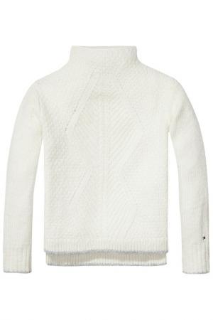 Пуловер Tommy Hilfiger. Цвет: бежевый