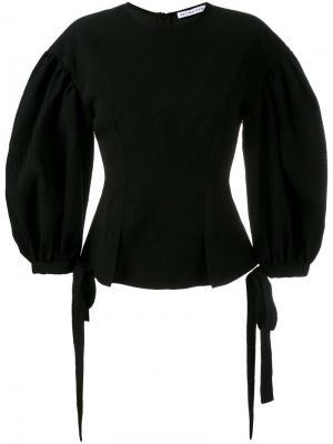 Блузка Maddie с пышными рукавами Rejina Pyo. Цвет: чёрный