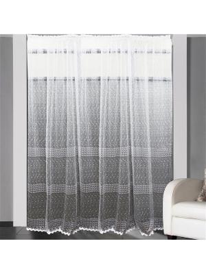 Тюль с вышивкой Amore Mio  300*270 см белый. Цвет: белый
